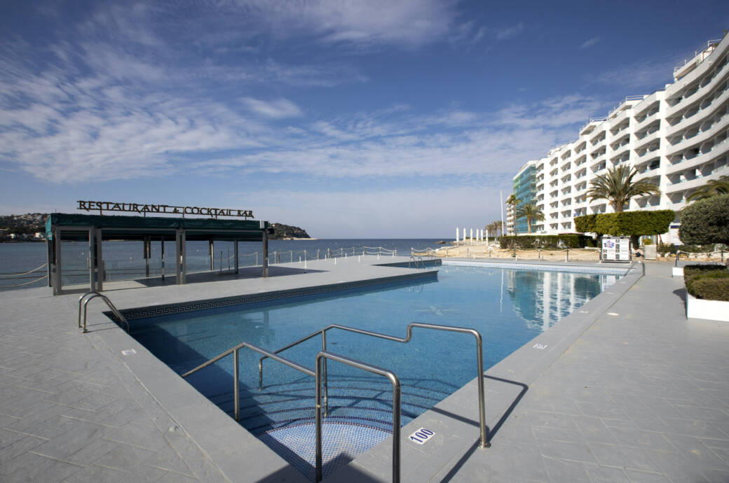 Leeres Hotel auf Mallorca