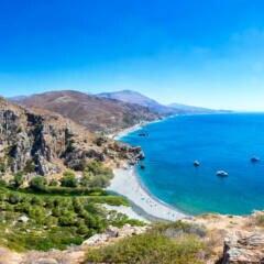 Der wohl schönste Strand auf Kreta: Préveli