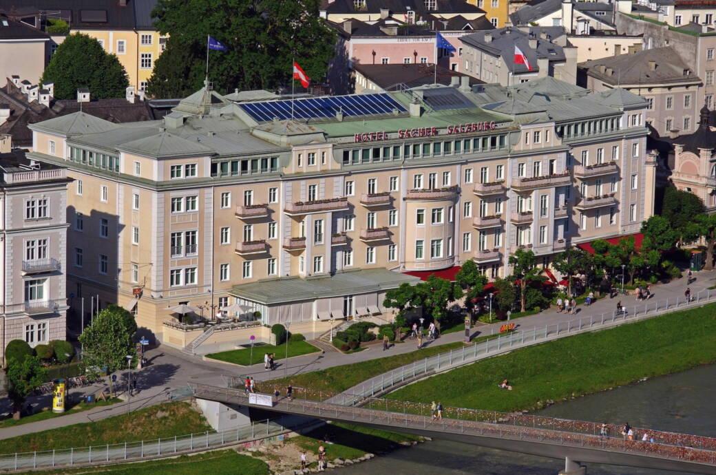 Hotel Sacher in Salzburg