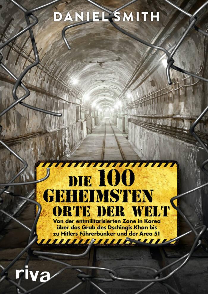 """Buchcover """"Die 100 geheimsten Orte der Welt"""""""