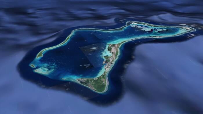 Insel Diego Garcia