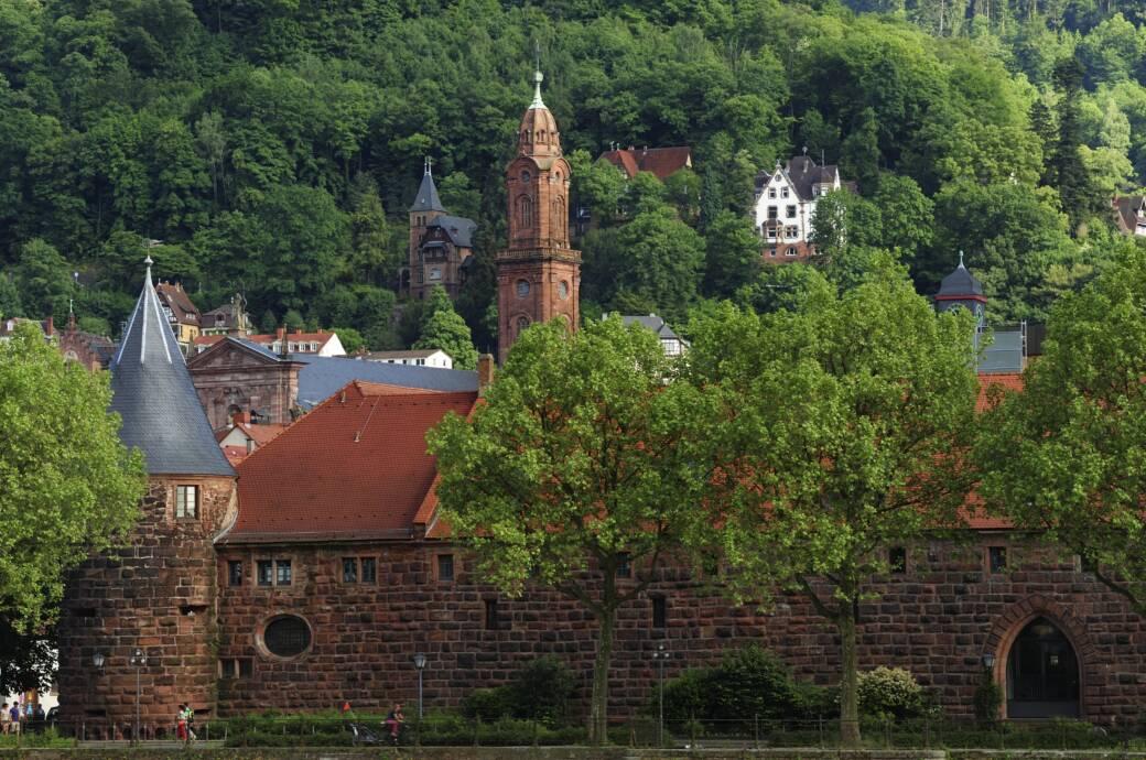 Die Universität von Heidelberg