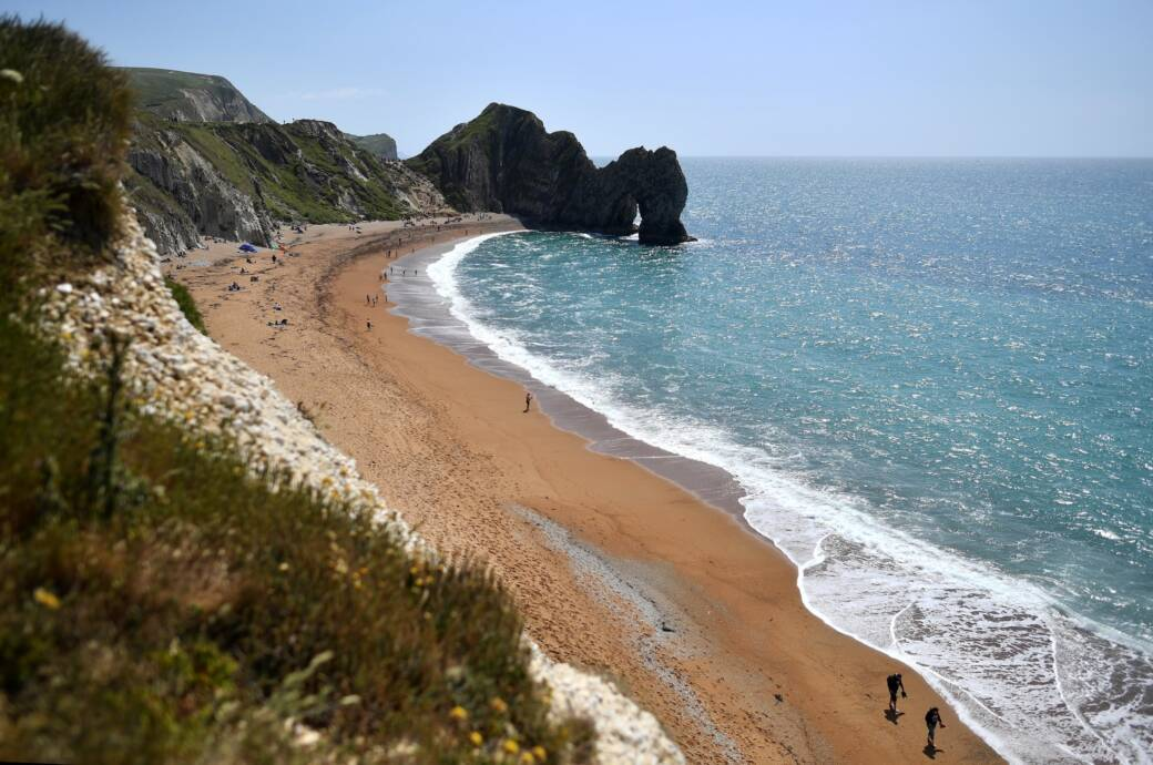 Durdle Door – Strand in Großbritannien
