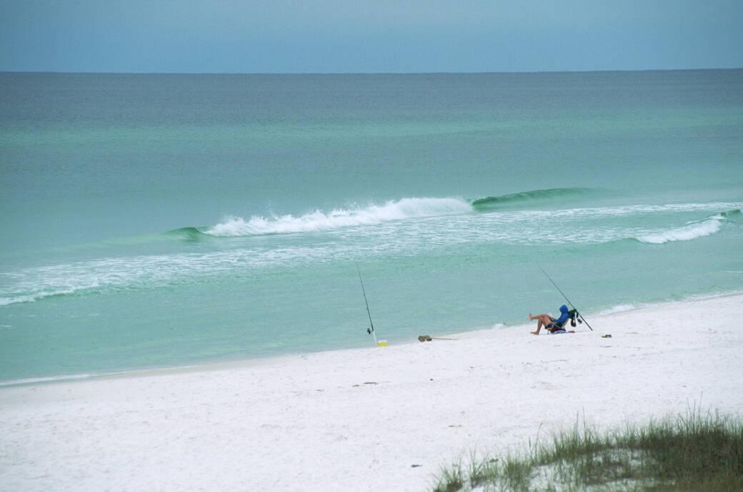Grayton Beach in Florida, USA