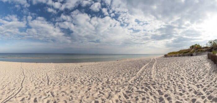 Die Dünen auf der Halbinsel Hel