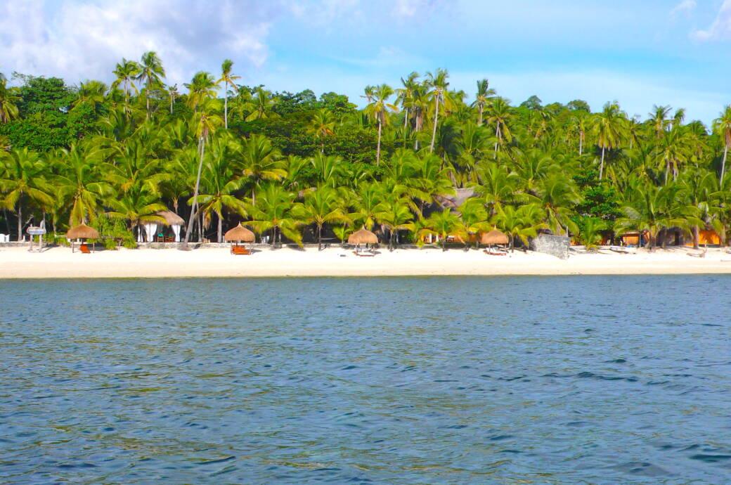 Tubod Beach Siquijor, Philippinen