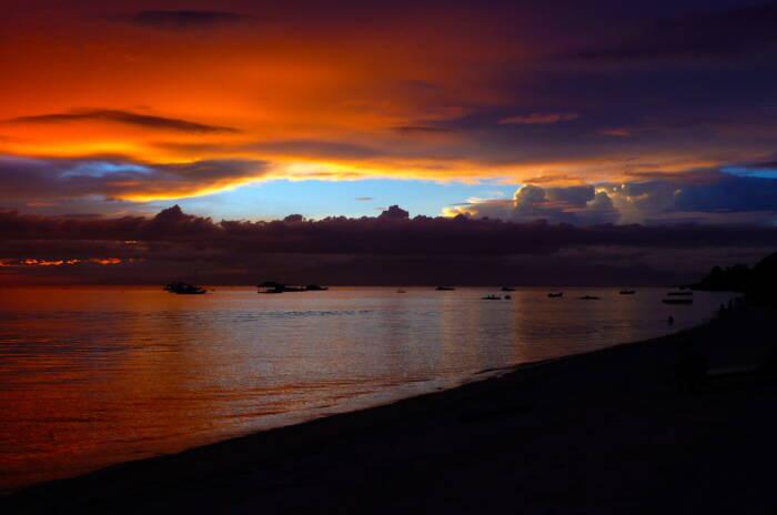 Sonnenuntergang Siquijor