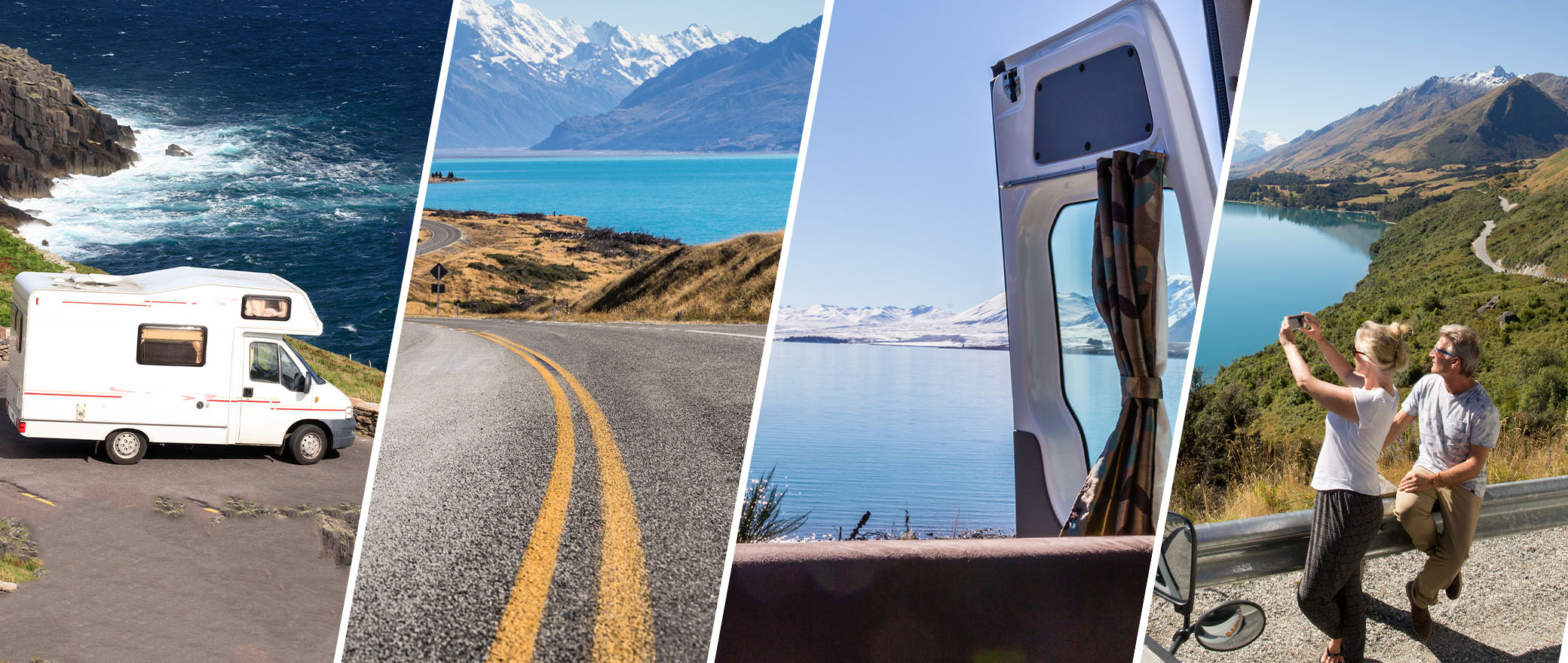 Roadtrips mit Pkw, Wohnmobil und Van