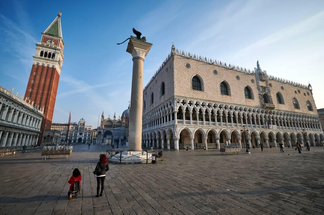Venedig fleht um die Rückkehr der Touristen
