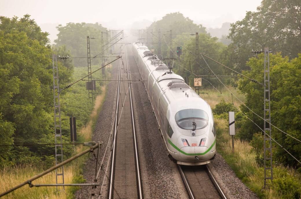 Das Sommerticket gilt auch in den ICEs der Deutschen Bahn