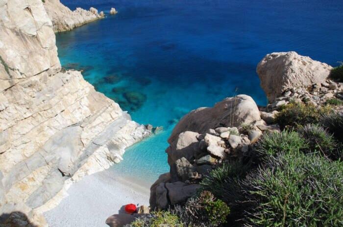 Strand Ikaria Griechenland