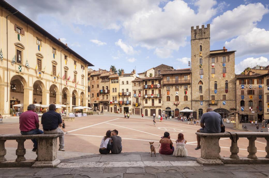 Arezzo in der Toskana – die besten Reisetipps