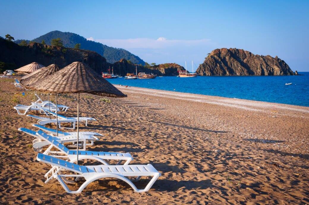 Türkei leerer Strand