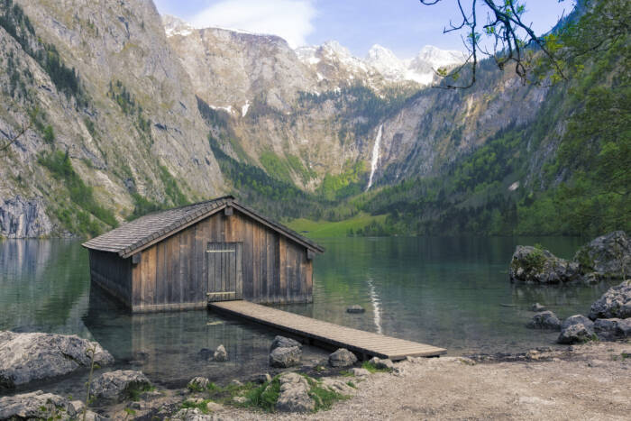Röthbachfall im Berchtesgadener Land, Bayern