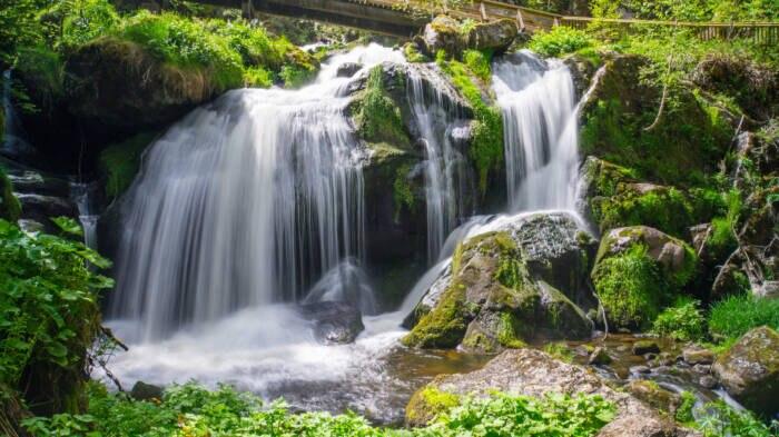 Triberger Wasserfälle im Schwarzwald, Baden-Württemberg