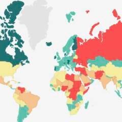 Global Peace Index 2020 zeigt die friedlichsten und unfriedlichsten Länder der Welt