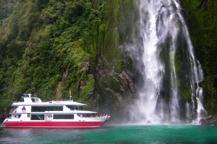 Bootsfahrt Milford Sound