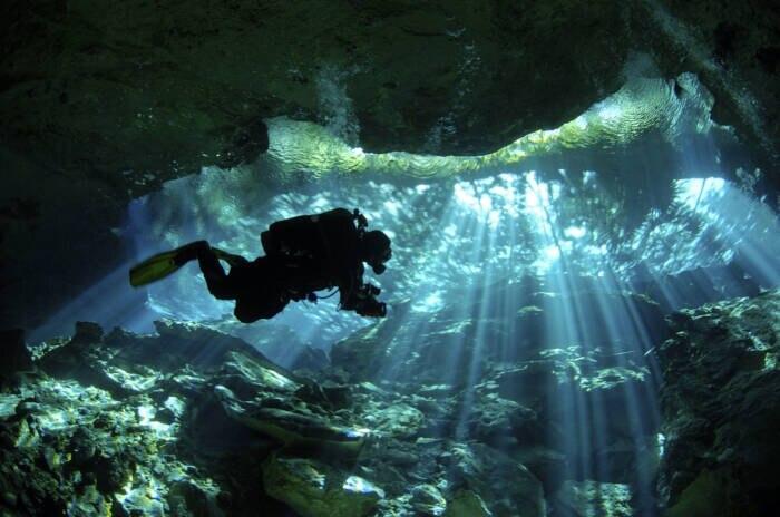 Cenote Dos Ojos, Yucatán