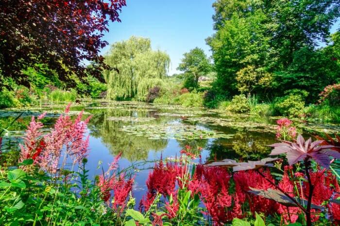 Die Gärten in Giverny