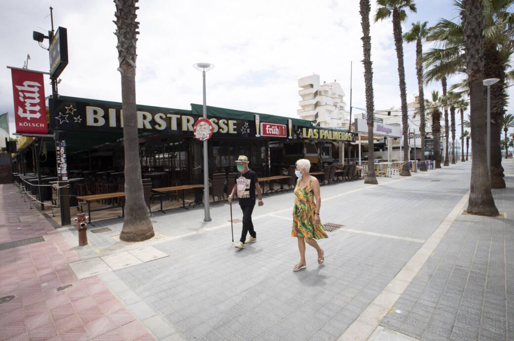 Mallorca, Partymeile, keine Feiern