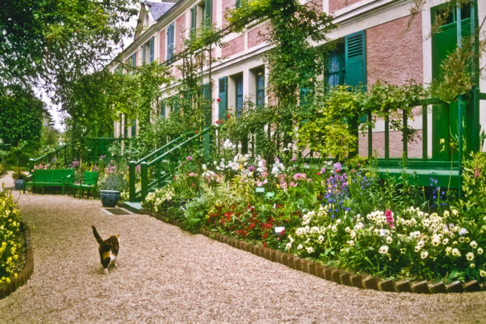 Monets Haus in Giverny