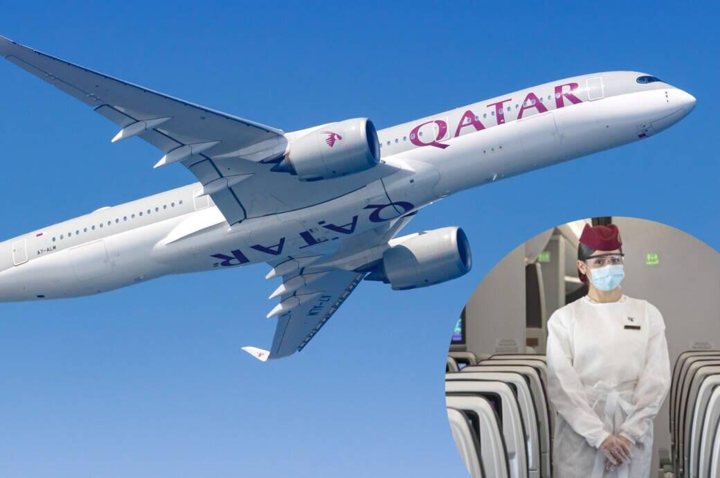 Qatar Airways Visierpflicht