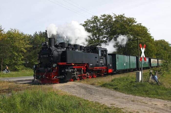 "Dampflokomotive ""Rasender Roland"""
