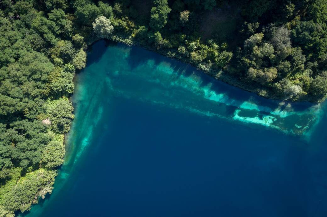 Der legendäre Kreidesee, der schon vielen Tauchern zum Verhängnis wurde