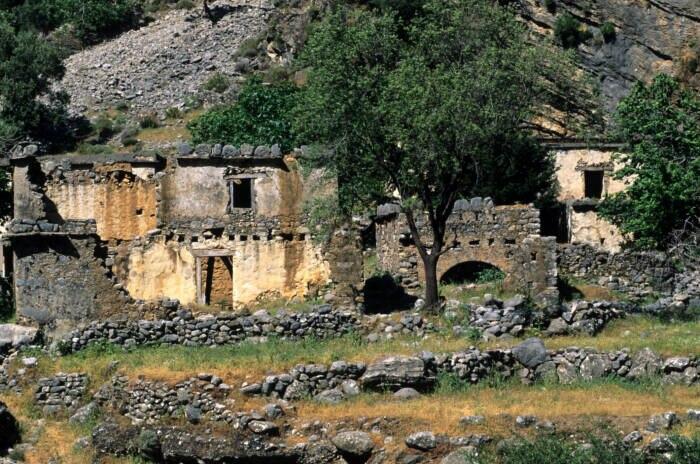 Samaria, Dorf Kreta