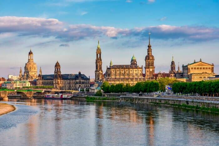 Das zauberhafte Dresden trägt auch den Spitznamen Elbflorenz