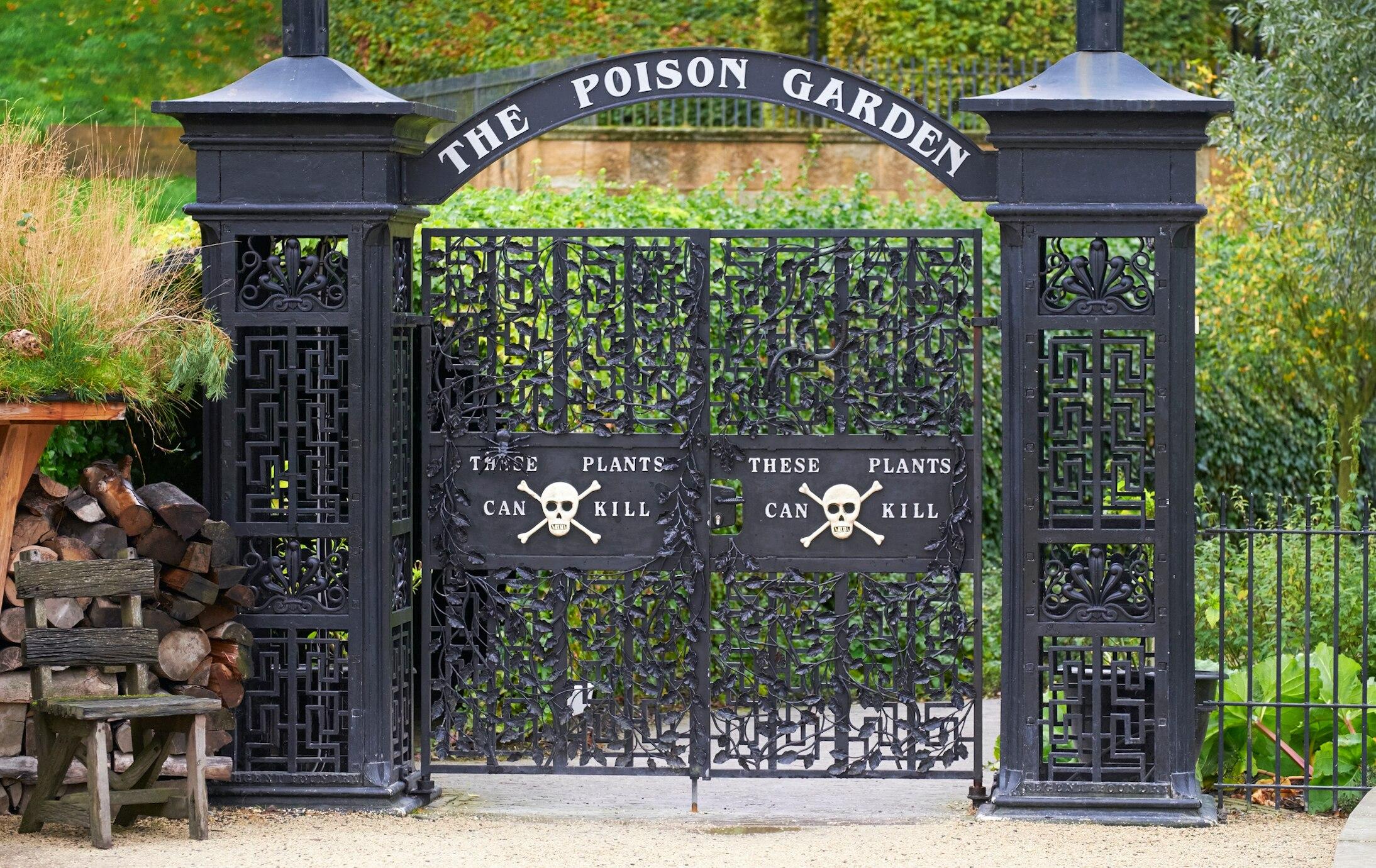 Alnwick Poison Garden Der giftigste Garten der Welt