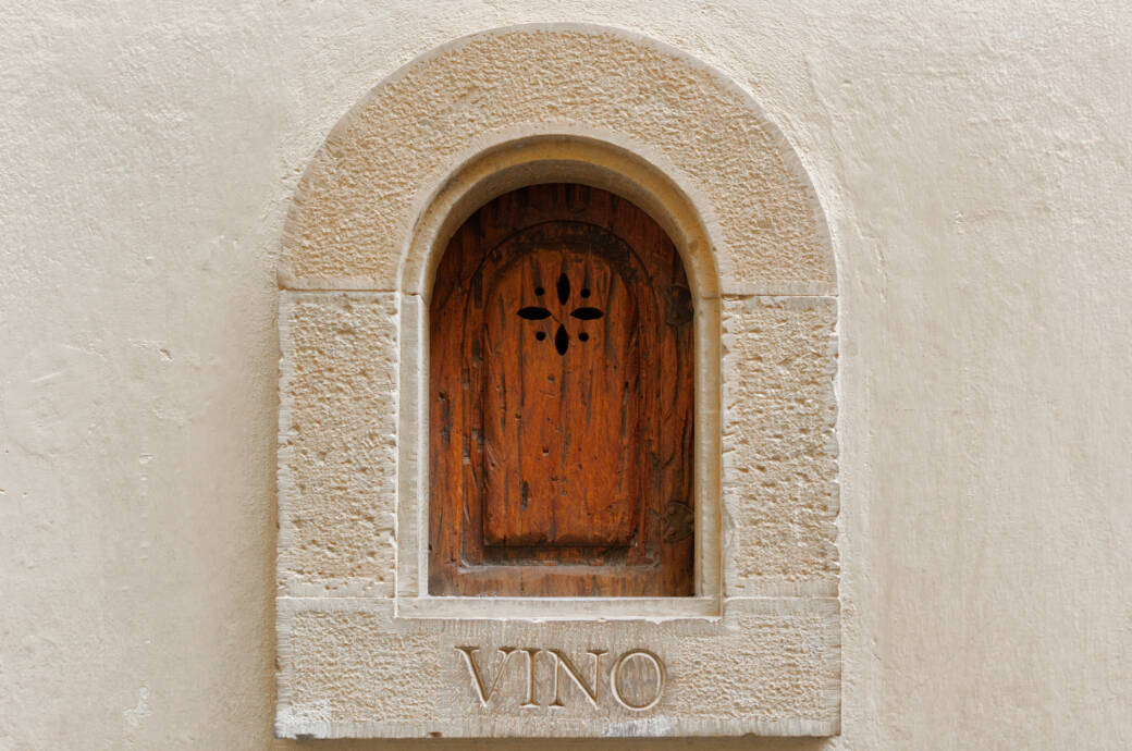 """Ein """"Buchette del vino"""" in Florenz"""