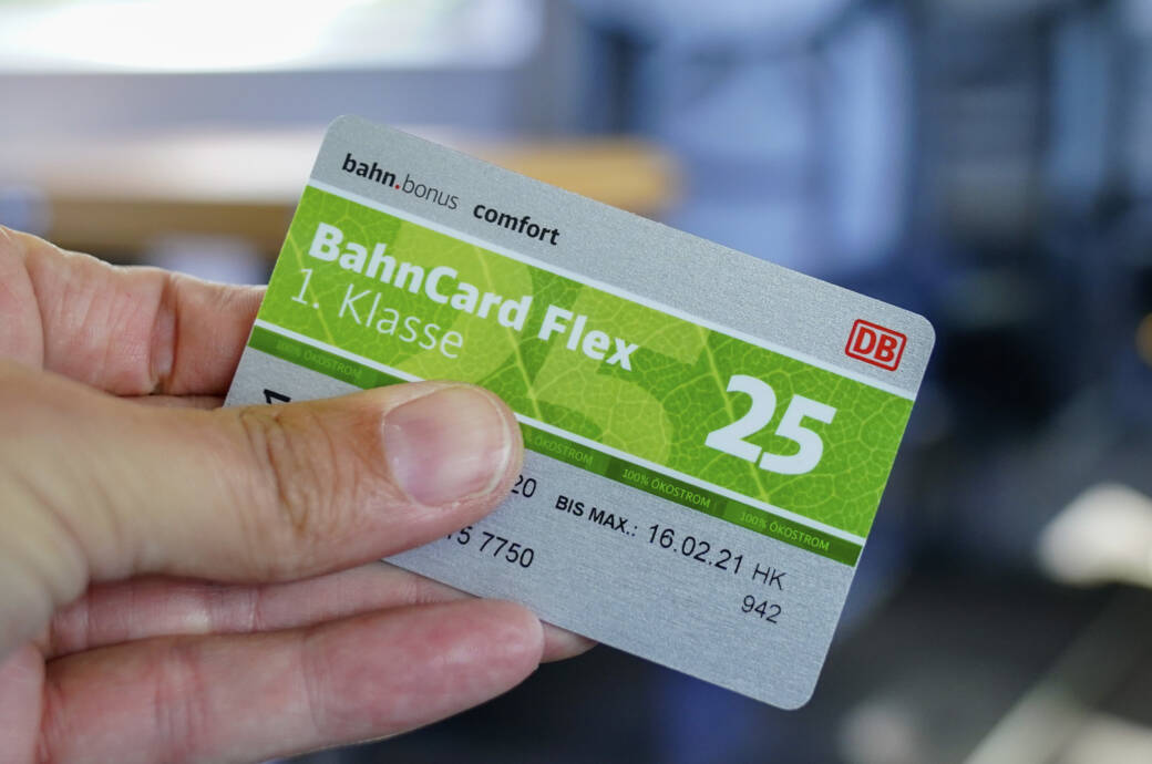 Lohnt sich für Sie eine Bahncard25?