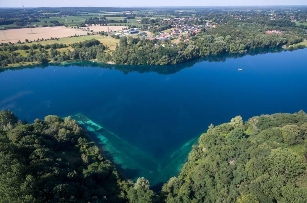 Der Kreidesee im Landkreis Cuxhaven ist auch überregional bei Tauchern beliebt – aber nicht ganz ungefährlich