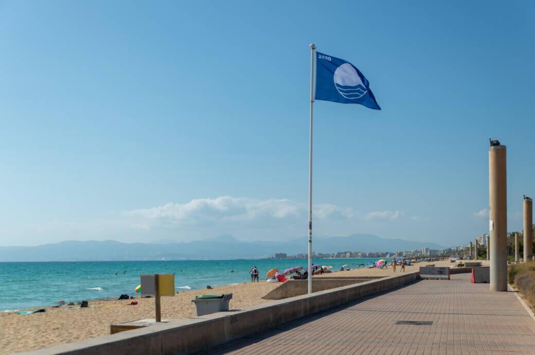 Mallorca leerer Strand