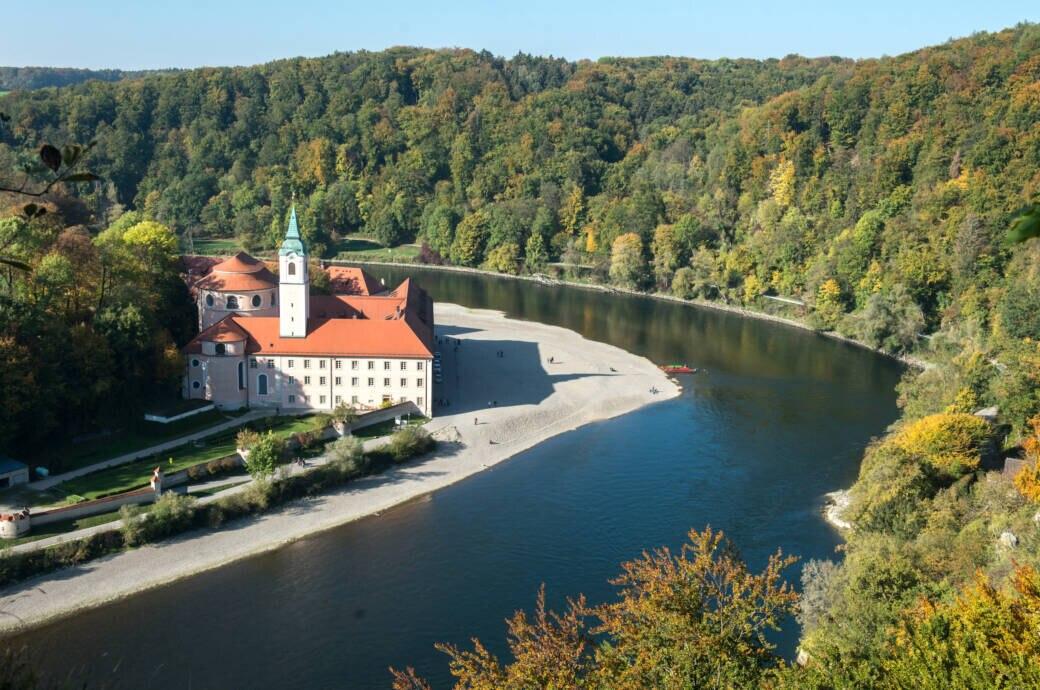 Kloster Weltenburg, Donau