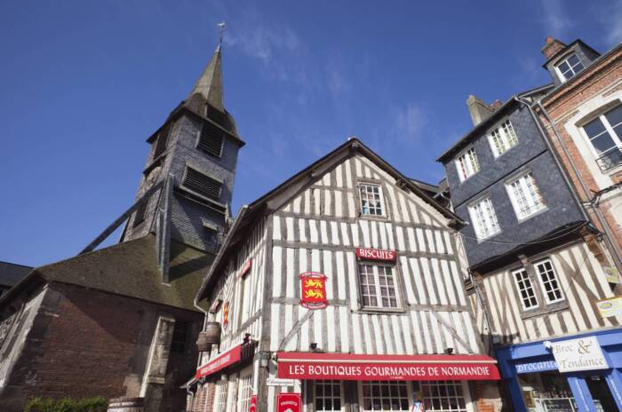 Kirche St. Catherine Honfleur