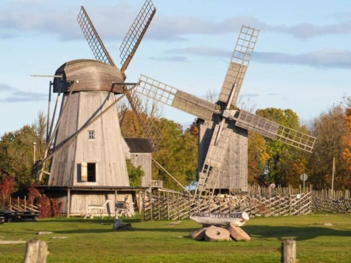 Windmühlen von Angla