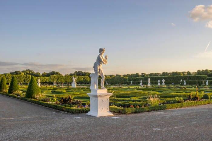In Hannover kann man in den Herrenhäuser Gärten ideal entspannen