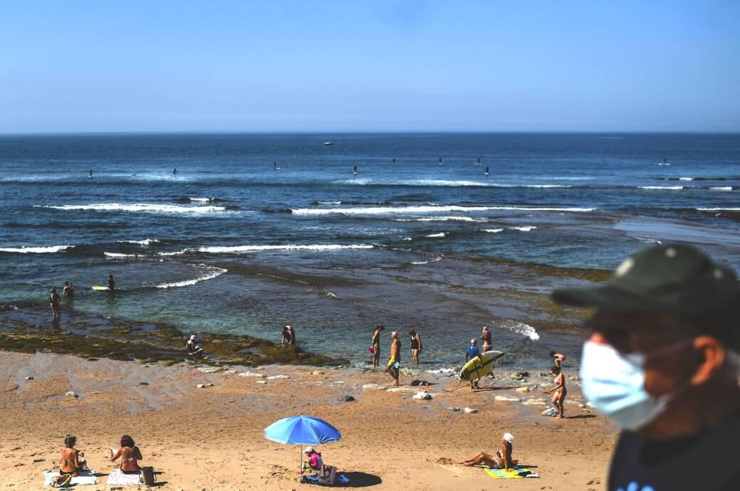 Strand in Portugal in Corona-Zeiten