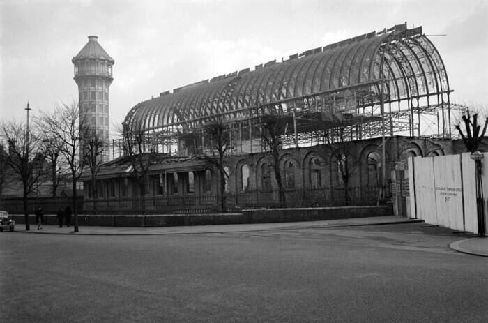 Crystal Palace, Ruinen