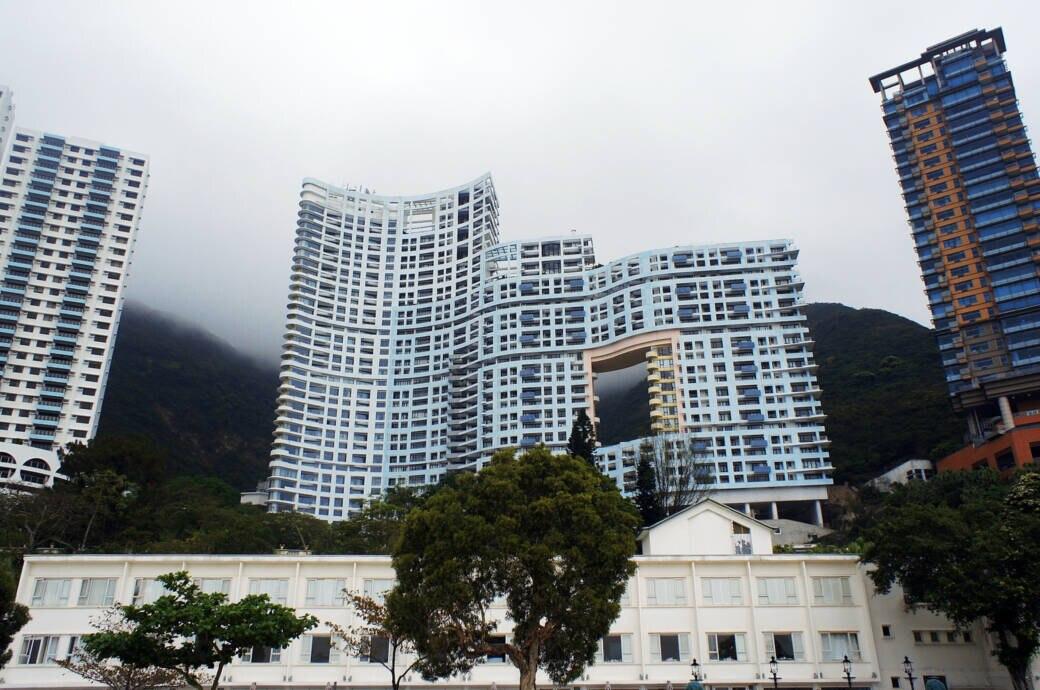 Hochhaus Hongkong Loch