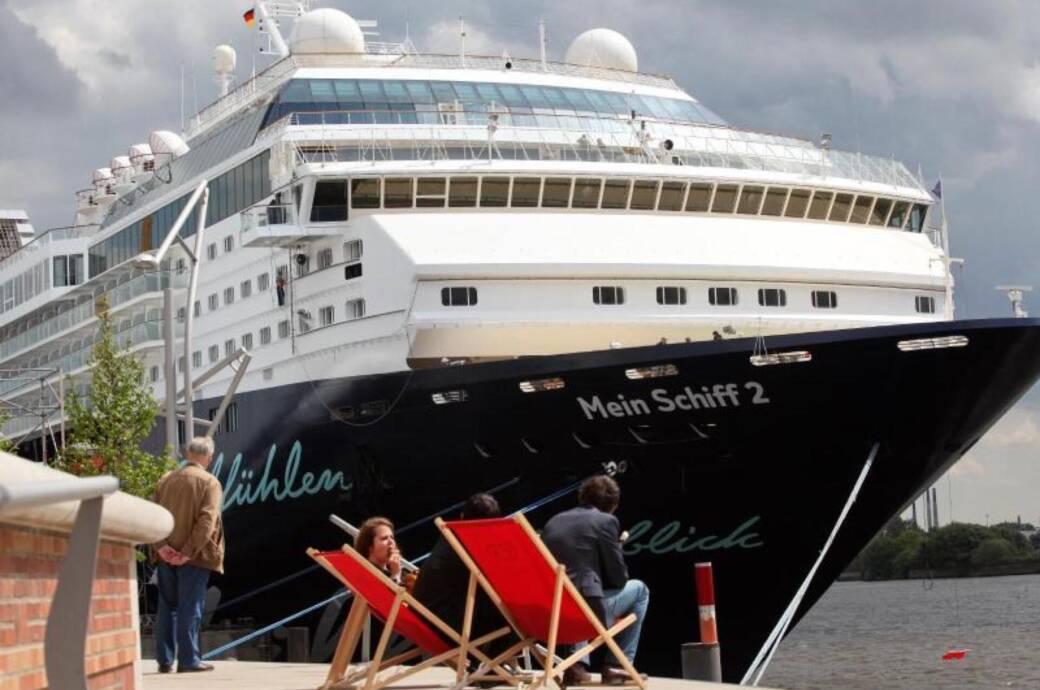 Das Kreuzfahrtschiff Mein Schiff 2