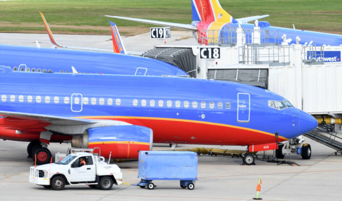 So bunt sind die Maschinen von Southwest Airlines