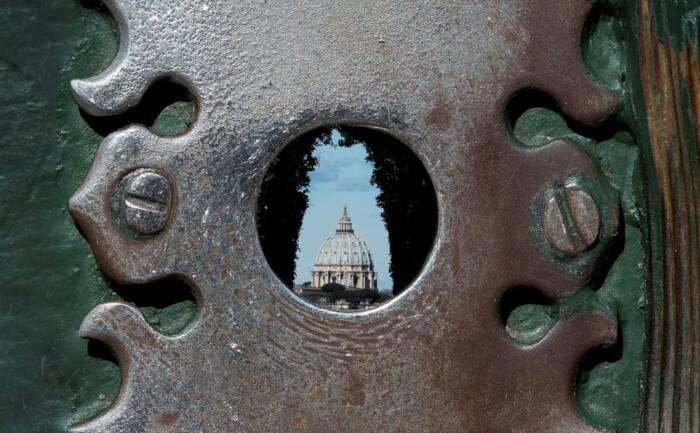 Schlüsselloch in Rom