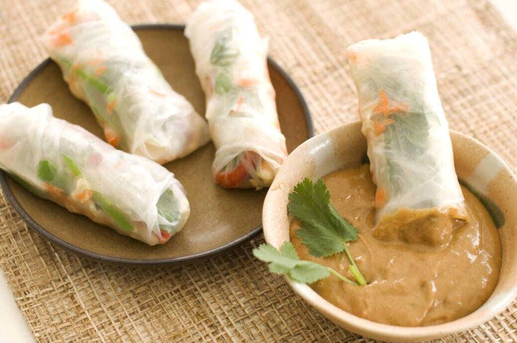Lecker und einfach! Rezept für vietnamesische Sommerrollen