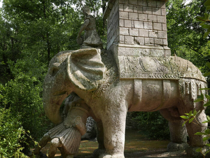 Park of the Monsters in Bomarzo