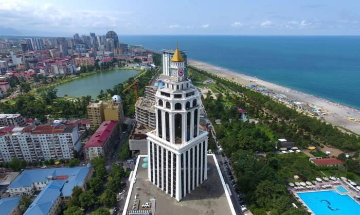 Der Badeort Batumi am schwarzen Meer