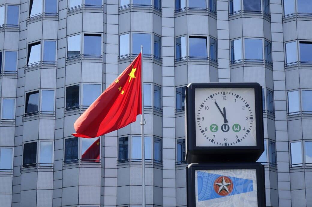 Zeitzonen in China