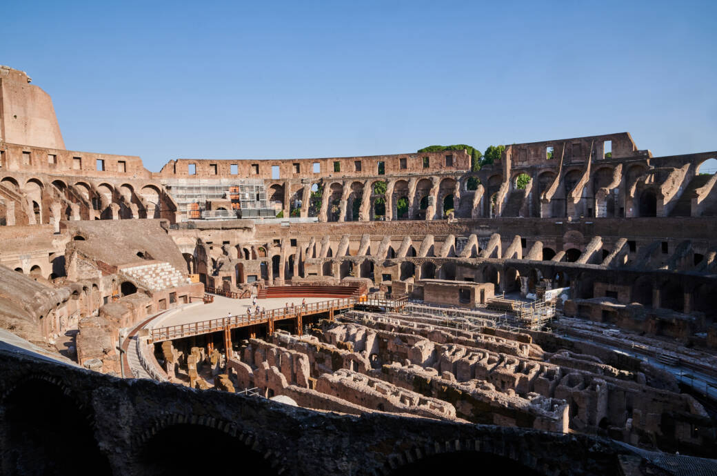 Das Kolosseum in Rom ist eine der beliebtesten Sehenswürdigkeiten der Stadt